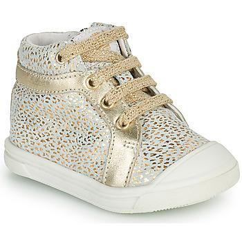 Sapatos Rapariga Sapatilhas de cano-alto GBB NAVETTE Ouro