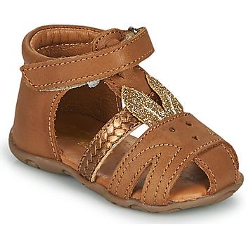 Sapatos Rapariga Sandálias GBB FADIA Castanho