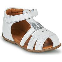 Sapatos Rapariga Sandálias GBB FADIA Branco