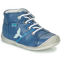 Sapatos Rapaz Sapatilhas de cano-alto GBB ABRICO Azul