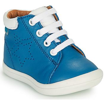 Sapatos Rapaz Sapatilhas de cano-alto GBB BAMBOU Azul