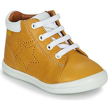 Sapatos Rapaz Sapatilhas de cano-alto GBB BAMBOU Amarelo