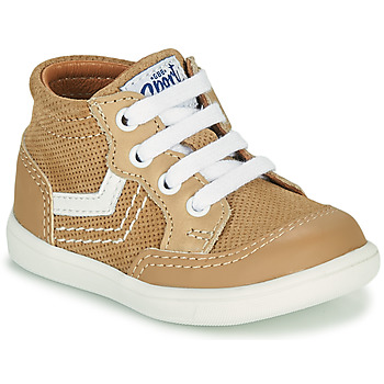 Sapatos Rapaz Sapatilhas de cano-alto GBB VIGO Bege