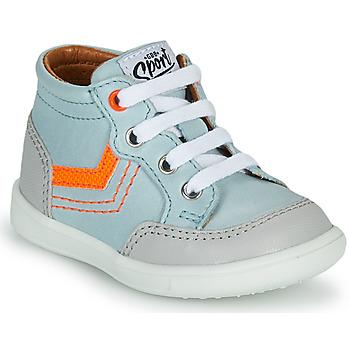 Sapatos Rapaz Sapatilhas de cano-alto GBB VIGO Azul
