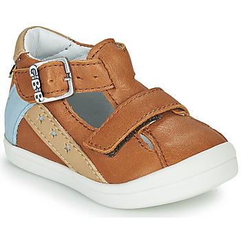Sapatos Rapaz Sandálias GBB BERNOU Conhaque