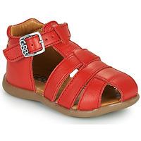Sapatos Rapaz Sandálias GBB FARIGOU Vermelho