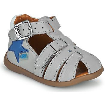 Sapatos Rapaz Sandálias GBB GARDOU Cinza