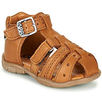 Sapatos Rapaz Sandálias GBB ARIGO Conhaque