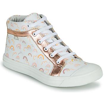Sapatos Rapariga Sapatilhas de cano-alto GBB LEOZIA Rosa