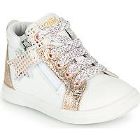Sapatos Rapariga Sapatilhas de cano-alto GBB VALA Branco
