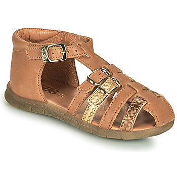 Sapatos Rapariga Sandálias GBB PERLE Castanho