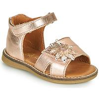 Sapatos Rapariga Sandálias GBB SATIA Rosa / Ouro