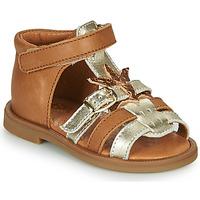 Sapatos Rapariga Sandálias GBB CARETTE Castanho