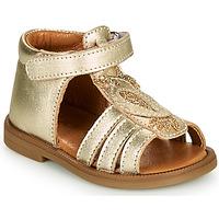 Sapatos Rapariga Sandálias GBB FRANIA Ouro