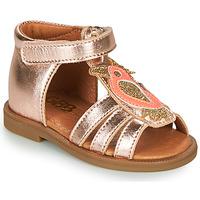 Sapatos Rapariga Sandálias GBB FRANIA Rosa / Ouro