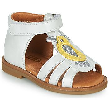 Sapatos Rapariga Sandálias GBB FRANIA Branco