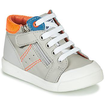 Sapatos Rapaz Sapatilhas de cano-alto GBB ANATOLE Cinza