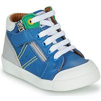 Sapatos Rapaz Sapatilhas de cano-alto GBB ANATOLE Azul