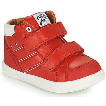 Sapatos Rapaz Sapatilhas de cano-alto GBB MORISO Vermelho