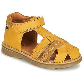 Sapatos Rapaz Sandálias GBB MITRI Amarelo