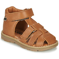 Sapatos Rapaz Sandálias GBB MITRI Castanho