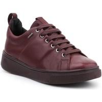 Sapatos Mulher Sapatos & Richelieu Geox D Mayrah B Abx Bordô