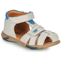 Sapatos Rapaz Sandálias GBB NUVIO Cinza