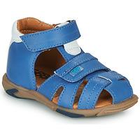 Sapatos Rapaz Sandálias GBB NUVIO Azul