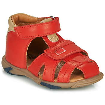 Sapatos Rapaz Sandálias GBB NUVIO Vermelho