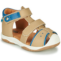 Sapatos Rapaz Sandálias GBB EUZAK Bege