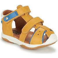 Sapatos Rapaz Sandálias GBB EUZAK Amarelo