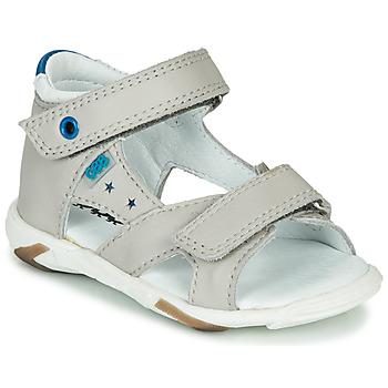 Sapatos Rapaz Sandálias GBB OBELO Cinza