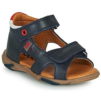 Sapatos Rapaz Sandálias GBB OBELO Azul