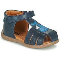 Sapatos Rapaz Sandálias GBB IROKO Azul