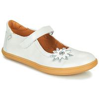 Sapatos Rapariga Sabrinas GBB FANETTA Branco / Nacre
