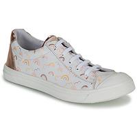 Sapatos Rapariga Sapatilhas GBB MATIA Branco / Rosa