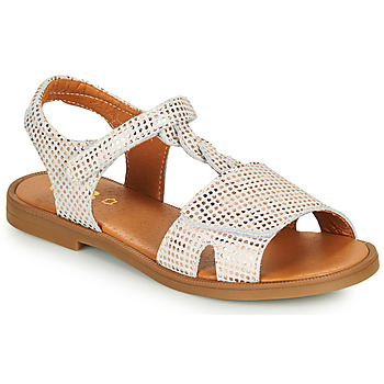 Sapatos Rapariga Sandálias GBB FARENA Branco / Rosa / Ouro