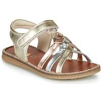 Sapatos Rapariga Sandálias GBB SUMY Ouro