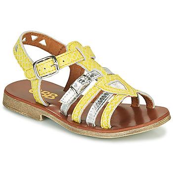 Sapatos Rapariga Sandálias GBB FANNI Amarelo