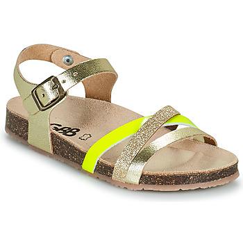 Sapatos Rapariga Sandálias GBB LULUNE Ouro