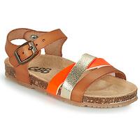 Sapatos Rapariga Sandálias GBB LULUNE Castanho