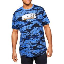 Textil Homem T-Shirt mangas curtas Under Armour Baseline Verbiage Tee 1351295-486