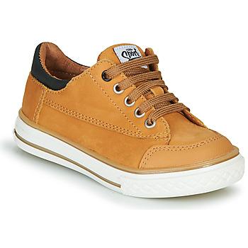 Sapatos Rapaz Sapatilhas GBB ETIO Conhaque