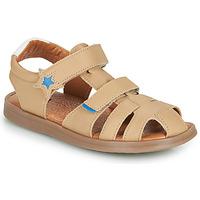 Sapatos Rapaz Sandálias GBB MARINO Bege