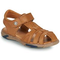 Sapatos Rapaz Sandálias GBB LUCA Castanho