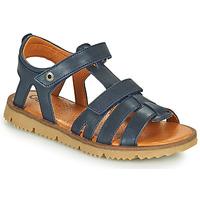 Sapatos Rapaz Sandálias GBB JULIO Marinho