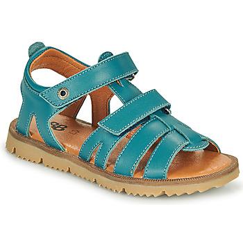 Sapatos Rapaz Sandálias GBB JULIO Azul
