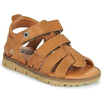 Sapatos Rapaz Sandálias GBB JULIO Castanho