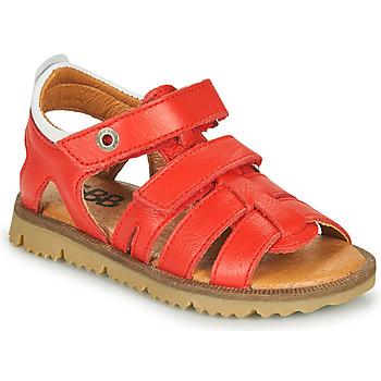 Sapatos Rapaz Sandálias GBB JULIO Vermelho