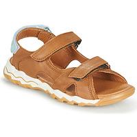 Sapatos Rapaz Sandálias GBB DIMOU Castanho
